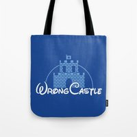 Wrong Castle Tote Bag