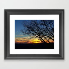 Shenandoah Sunset Framed Art Print