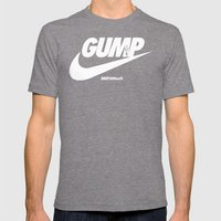 Gump- JustDoIt Mens Fitted Tee Tri-Grey SMALL