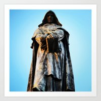 From The Grave Hole Art Print