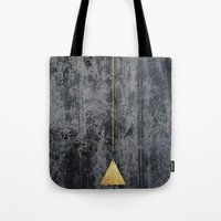 gOld triangle Tote Bag