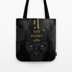 Rise of the Planet of the Apes Tote Bag