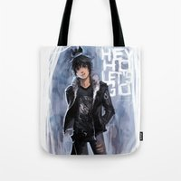 Punk Ghost King Tote Bag