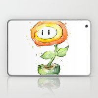 Fireflower Mario Waterco… Laptop & iPad Skin