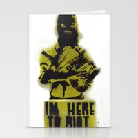 WRG - Weekly Riot Group Stationery Cards