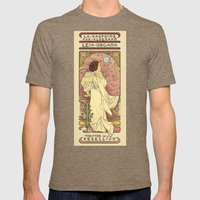 La Dauphine Aux Alderaan Mens Fitted Tee Tri-Coffee SMALL