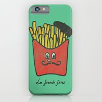 french iPhone & iPod Cases featuring French Fries by Budi Kwan