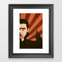 The Count Framed Art Print