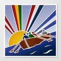 Palio Marinaro dell'Argentario 2012 Canvas Print