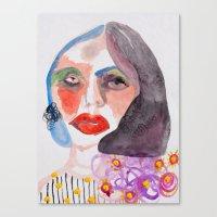 Cameo #11 Canvas Print