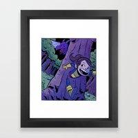 Run Kitty Run! Framed Art Print