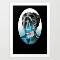 Art Print featuring Ms Impossible by Dead Toy Matte