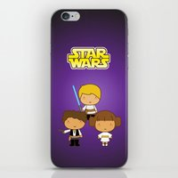 Star Wars Trio iPhone & iPod Skin