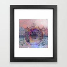 All bubbles are magical Framed Art Print