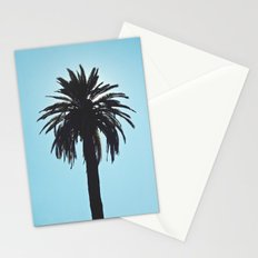 Palm Tree Silhouette Stationery Cards