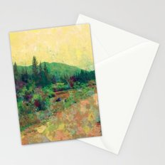Miles to Go Before I Sleep Stationery Cards