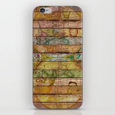 Around the World in Thirteen Maps iPhone & iPod Skin