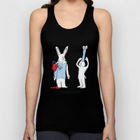 Heart on Sleeve Unisex Tank Top