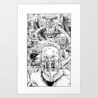 Mad Max Fury Road Art Print