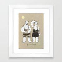 Summer Time Framed Art Print