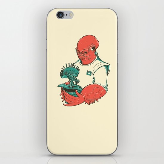 The Admiral's Trap iPhone & iPod Skin