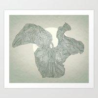 Loie Fuller Is Dancing  Art Print