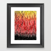 OXYGEN-8 Framed Art Print
