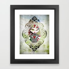 La charmante Framed Art Print