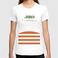 movie poster T-shirts featuring Juno - Alternative Movie Poster by Stefanoreves