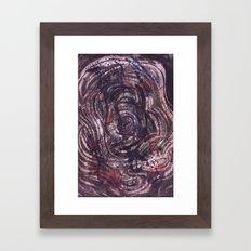 Underwater Supernova Framed Art Print