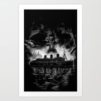 Ghost Ship Art Print
