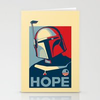 Boba Fett for president  Stationery Cards