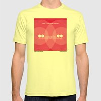 No016 My Christine Minim… Mens Fitted Tee Lemon SMALL
