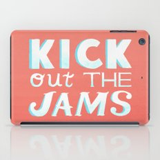 Kick Out The Jams iPad Case