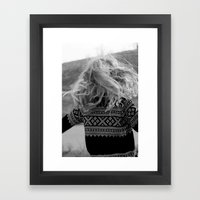out of reach Framed Art Print