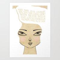 Does Your Garden Grow - … Art Print