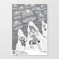 Abduction From Uranus Canvas Print