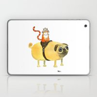 Commander Creamsicle Laptop & iPad Skin