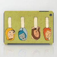 Some Girls Living In A Nailpolish iPad Case