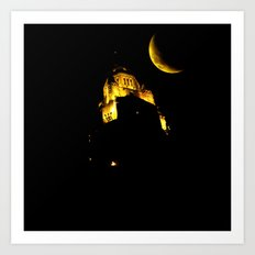 LeVeque At Night Art Print
