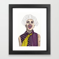 Fashion Illustration - P… Framed Art Print