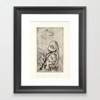 Something About Time Framed Art Print