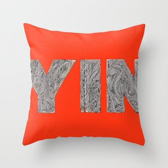 Yin Throw Pillow