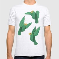 Cotorras Mens Fitted Tee Ash Grey SMALL