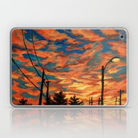 Street Meets Sky  Laptop & iPad Skin
