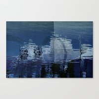 Abstract Blue Canvas Print