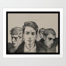 The Raven Boys Art Print