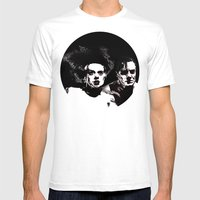 Dr Frankenstein And The … Mens Fitted Tee White SMALL