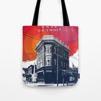 Save Detroit Tote Bag