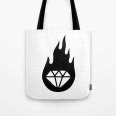 Diamond Flame 2 Tote Bag